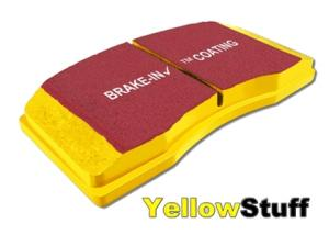EBC102781 YellowStuff Brake Pads Rear RX-7