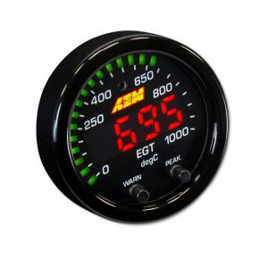 AEM X-Series EGT Gauge 52mm 0~1800F / 0~1000C