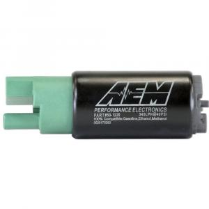 AEM High Flow E85 In-Tank Fuel Pump 340LPH 65mm Offset