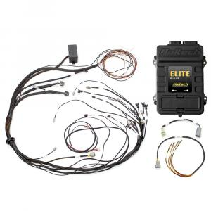 HALTECH Elite 1000 + Mazda RX7 FC3S CAS w. Flying Lead Ignition Terminated Harness Kit