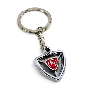 ROTARY13B1 KEY CHAIN ROTARY HEART