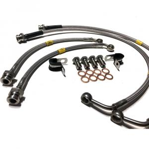 HEL Performance Braided Brake Line Kit RX-7 FC 85-91