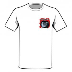WANKELSHOP T-SHIRT HOUSING WHITE