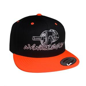 WANKELSHOP CAP SNAPBACK ORANGE BLACK