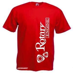 WANKELSHOP ROTARY ENGINE T-Shirt Red