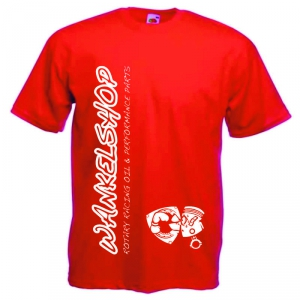 WANKELSHOP T-Shirt Red