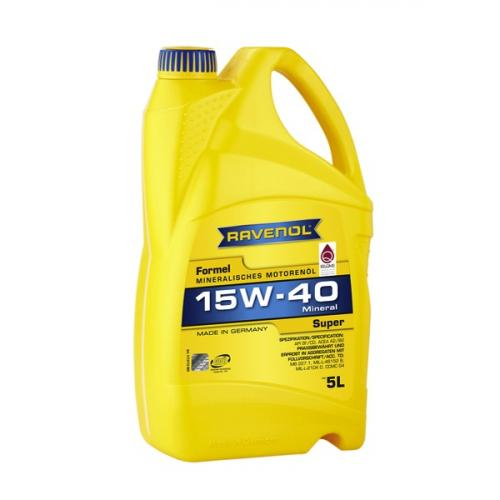 RAVENOL Formel Super 15W-40 5L Multi Grade Engine Oil