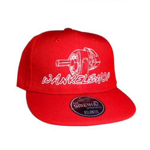 WANKELSHOP CAP SNAPBACK KID RED
