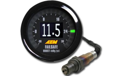 AEM Wideband Lambda Failsafe AFR Gauge 52mm Controller