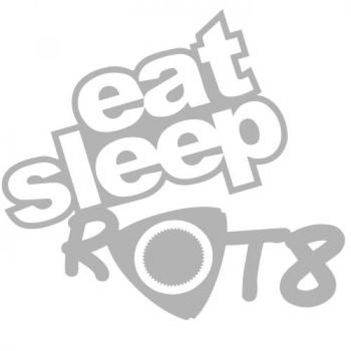 RE DECALS Eat Sleep ROT8