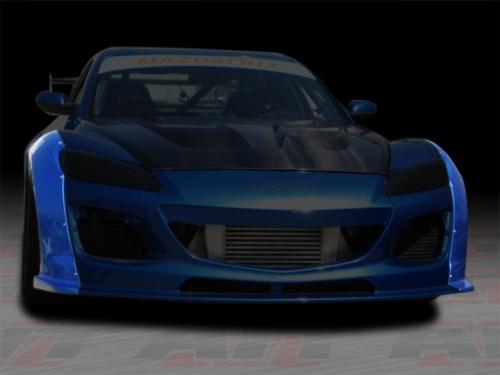AIT MS Style Front Fender Flares RX8 09-11